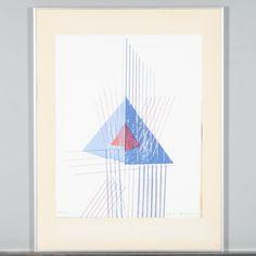 Osmo Eteläniemi, vedos 114/175, signeerattu -82, Pyramidens inre väsen, 48x38 cm. Playing Cards, Design, Playing Card Games, Game Cards, Playing Card