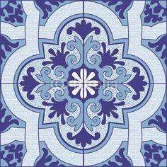 Azulejo Portugues por spinpoint, vetor royalty-free #57281595 na ...