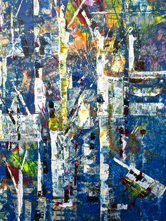 Dianne Feaver ~ Let the paint move