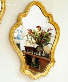 Pareja de espejos de estilo frances 4 Genoves Atelier