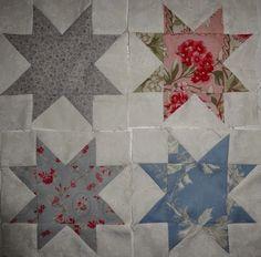 Stonefieldsquilt van Susan Smith gemaakt door Elaine van http://emilyscupboard.blogspot.nl