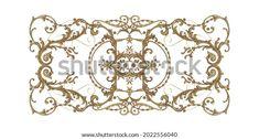 Digital Textile Design Motif Botanical Flower Stock Illustration 2022556040