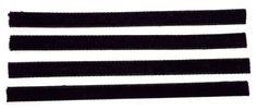 Replacement VPI Machine/Okki Nokki Strips (Set of 4) Velvet/Felt + 3M Adhesive  #records