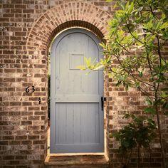 Garden gate- Hedgewood home Front Doors, Garage Doors, Garden Gates, Fences, Building Design, Manchester, Custom Design, New Homes, House Ideas