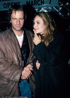 Back in the day: She shares Eleanor with ex husband Christopher Lambert, as they were married from 1988 to 1994