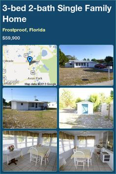 3-bed 2-bath Single Family Home in Frostproof, Florida ►$59,900 #PropertyForSale #RealEstate #Florida http://florida-magic.com/properties/7033-single-family-home-for-sale-in-frostproof-florida-with-3-bedroom-2-bathroom