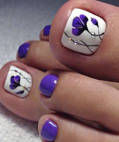 Most Trendy Toe Nail Art Designs