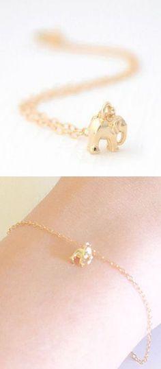 Cute Little Elephant Bracelet ♥