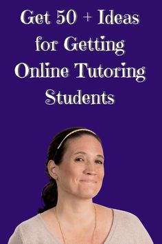 Ways to Get Online Tutoring Students Business Marketing, Email Marketing, Social Media Marketing, Tutoring Business, Online Tutoring, The Secret, Students, Learning, Free