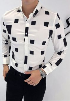 High Quality Autumn Men Shirt Fashion 2018 Slim Fit British Style Casual Shirts Mens Long Sleeve Business Work Shirts Dress Mens - lztees - Men's style, accessories, mens fashion trends 2020 Mens Fashion Wear, Best Mens Fashion, Men's Fashion, Fashion 2018, Gents Shirts, African Men Fashion, Camisa Polo, Work Shirts, Casual Shirts For Men