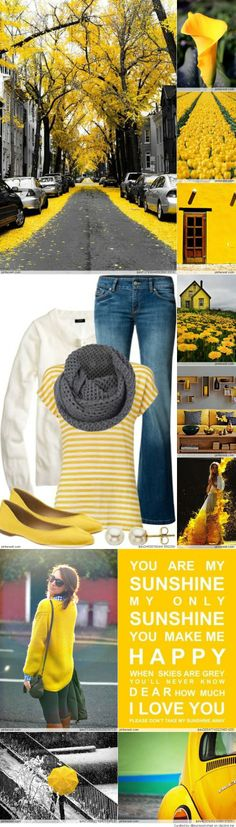 Yellow color inspiration