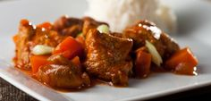 Curry & Rice --- This Delicious Japanese Recipe Just Might Be Our New Favorite Stew! The Meat Is So Tender And Flavorful! 12 Tomatoes Recipes, Meat Recipes, Asian Recipes, Dinner Recipes, Cooking Recipes, Healthy Recipes, Ethnic Recipes, Luncheon Recipes, Healthy Chef