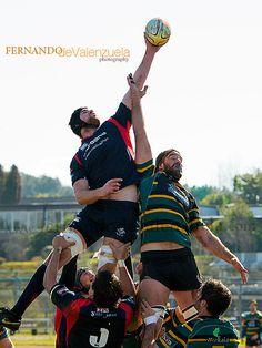 Line out Vigo Rugby Club vs Gernika by Fernando de Valenzuela (devalenzuela), via Flickr