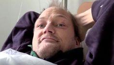 I KOMA: Christer fortsetter med dop og blir alvorlig syk. Foto: Petter Nyquist/TV 2 Addiction, Culture