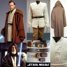 Obi-Wan Kenobi costume / Star Wars Jedi outfit: