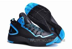 save off 29d9e 2912f Mens Jordan Super.Fly 2 PO Black-Dark Powder Blue For Sale Top Deals TFb6fsB