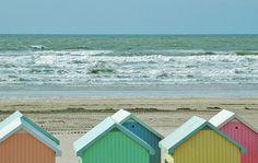 Cabanes de plage à Berck-sur-Mer © isamiga76