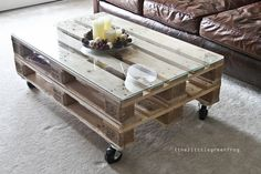 TO DIY OR NOT TO DIY: MESA DE PALETES / PALLET COFFEE TABLE