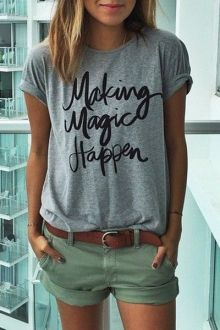 Long Sleeve Striped Side Slit T-Shirt: Tees | ZAFUL