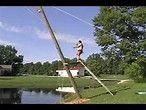 Képtalálat a következőre: Telephone Pole rope swing pond