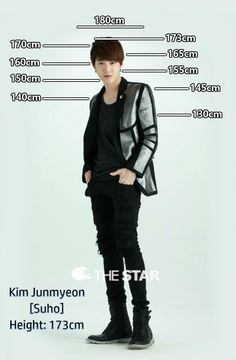 Height Chart : Suho