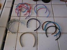 TikiDoll Dance: How to Make a Headband from people headbands