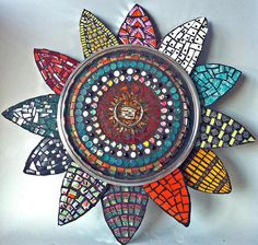 a piece of 2013 work from Suzan Germond who passed away suddenly in June of this year.  I took a class at her studio (Major Mosaics) out in Lakeway with another wonderful mosaicist who creates Byzantine-like pieces.