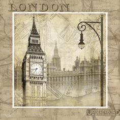 London Calling Posters by Keith Mallett at AllPosters.com $12.99 WANT!
