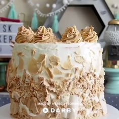 How to Make a Kievsky Cake #darbysmart #recipes #desserts #baking #sweets #cake #cupcakes #cakedecorating #fathersday #fathersdaygift #partyideas #rockymountain #foodie #chocolate #candy #meringue