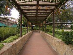 Monastery Walkway