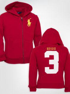 Full-Zip Fleece Hoodie - Create Your Own Sweatshirts - RalphLauren.com