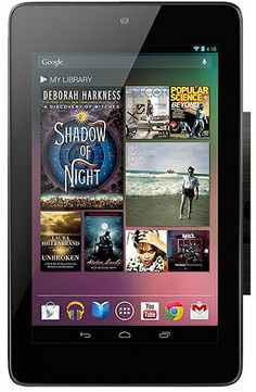 Google Nexus 7 Tablet PC with Wi-Fi, 7″ Touchscreen & Android 4.1 Jelly Bean Operating System