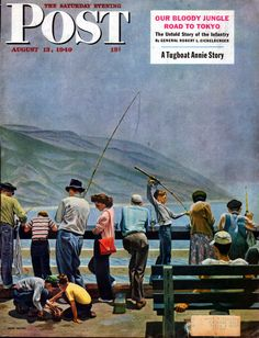 1949 Saturday Evening Post Cover by John Falter 953 | eBay