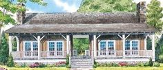 Dog trot homes on Pinterest   Dog Trot House  House plans and    dogtrot style   Cracker House Plans   Southern Living House Plans