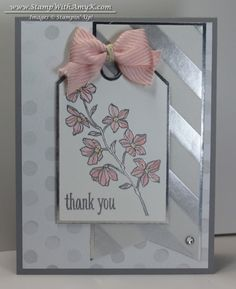 Silver Peaceful Petals - love this stamp set!