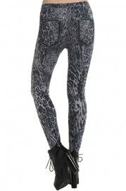 Romwe Leggings: Leggings Pants, Fashion Leggings and Fashion Styles at ROMWE #Romwe