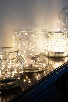 Add a warm glow to your home décor with these delicate string lights. Lounge Design, Cabin Design, Rose Gold Room Decor, String Lights In The Bedroom, Uni Room, Rustic Colors, Gold Table, Ravenna, Room Accessories