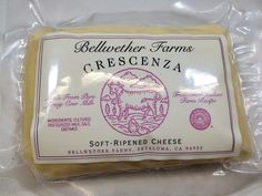 A Recipe for making Crescenza in your Kitchen The secret of this cheese is balancing the acid development with the correct moisture level in the cheese to have it ripen properly. You can choose to make it very moist and soft or a bit drier for...