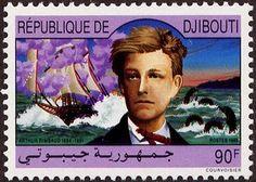 Djibouti, Arthur Rimbaud Bateau ivre