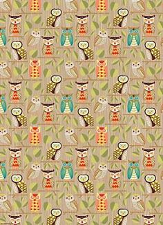Owls Wrapping Paper. This would either be turned into letters or used as a background for an inspirational classroom quote. Something to do with wisdom, preferably.
