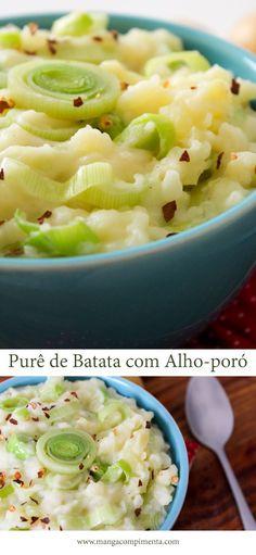 Purê de Batata com Alho-poró