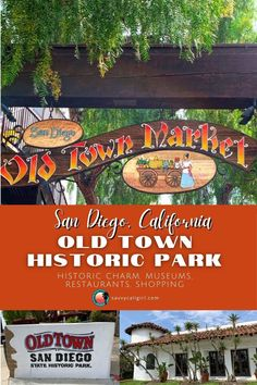 Love California travel? You have to stop at Old Town in San Diego! It's full of historic sites, shopping, amazing Mexican restaurants & entertainment. This destination has a vast amount of activities and you don't even need a guide. Walking Map, Old Town San Diego, Visit San Diego, Mexican Restaurants, California Travel, Historical Sites, The Good Place, Things To Do, Places To Go