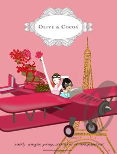 Olive and Cocoa catalogue Feb 2012.  I like the artwork and I will have to look up the products.