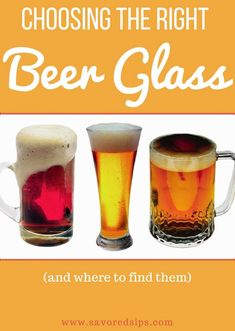 See how to choose the right beer serving glass at home