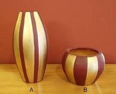 Resultado de imagem para vaso para decoração de natal vermelho