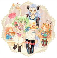 Harvest Moon Game, Rune Factory 4, Video Game Anime, Moon Lovers, Fire Emblem, Runes, Geek Stuff, Fan Art, Manga