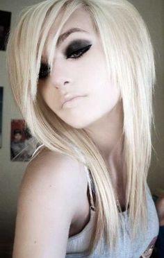 Emo Long Haircut Layers