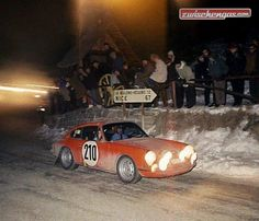 Rallye Monte Carlo 1968 - Elford auf Porsche: http://www.zwischengas.com/de/bildermagie/montecarlo?from=teaser&where=bildermagie&utm_content=buffer553b9&utm_medium=social&utm_source=pinterest.com&utm_campaign=buffer  Foto © Zwischengas Archiv