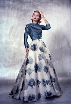 Grace Kelly poses for LIFE magazine, photo by Philippe Halsman, 1954 | Flickr - Photo Sharing!