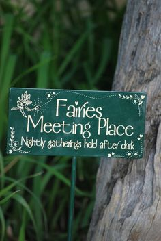 Another great fairy sign. Fairies like a garden you make for them out of love. That's all that matters to them. They tell me that all the time.
